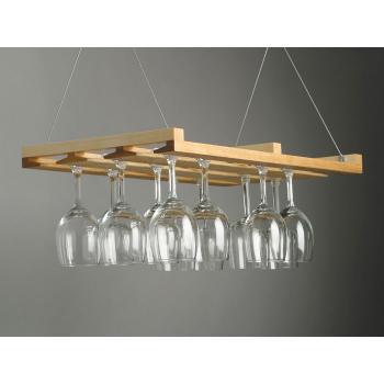 hanging wine glass rack design